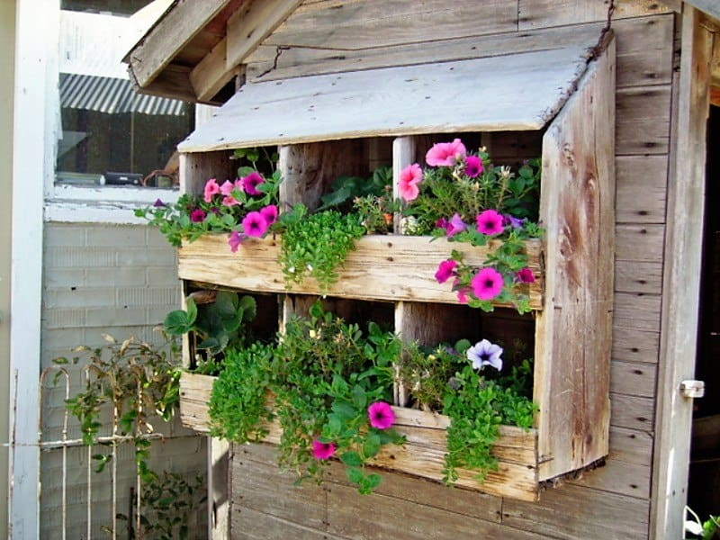 06-repurpose-old-items-for-a-fresh-new-look-vertical-gardens