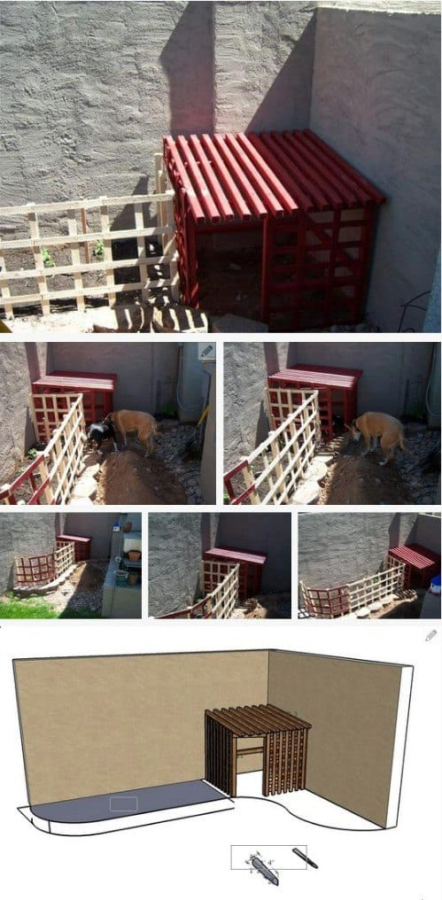 A Breezy Yet Fun Doggy Shelter