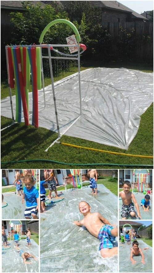 DIY Slip & Slide