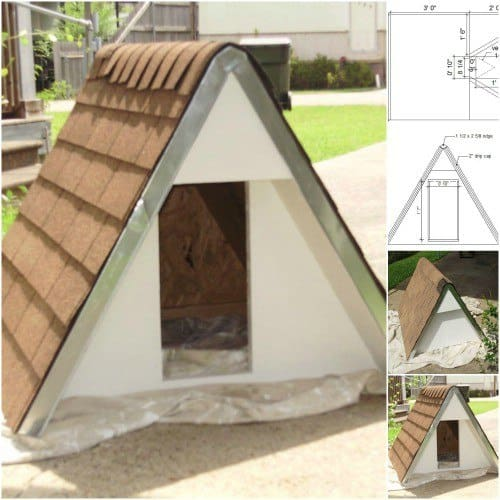 A-Frame Doggy House