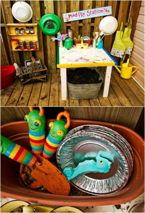 Amazing Mud Pie Station