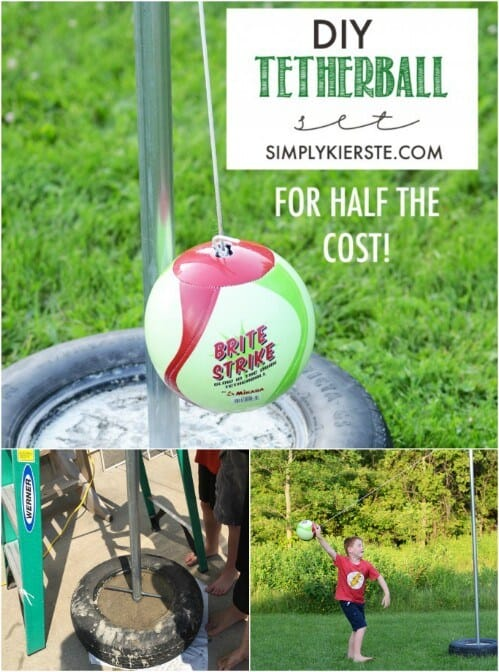 Cheap and Easy DIY Tetherball