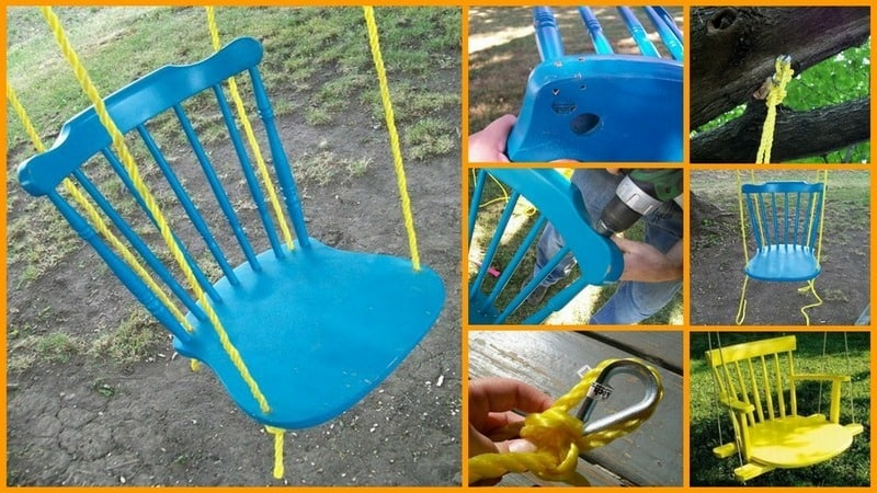 The Wooden Chair-Swing