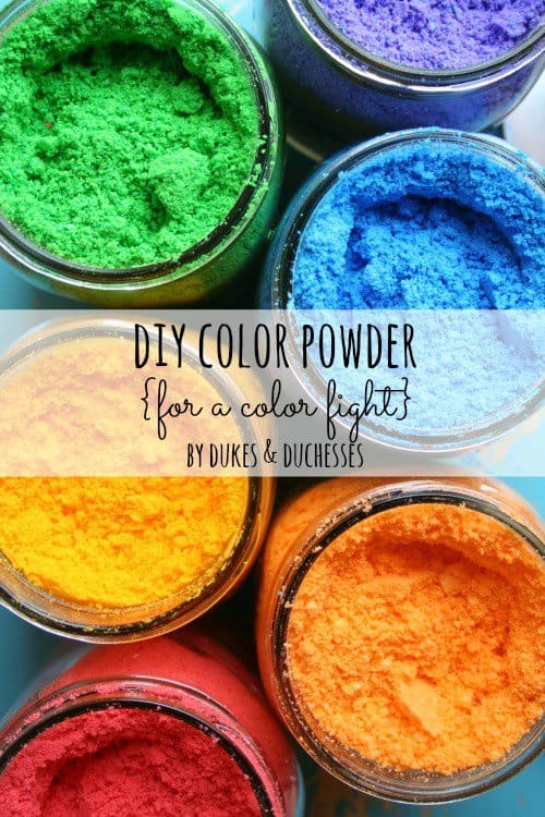 DIY Color Powder