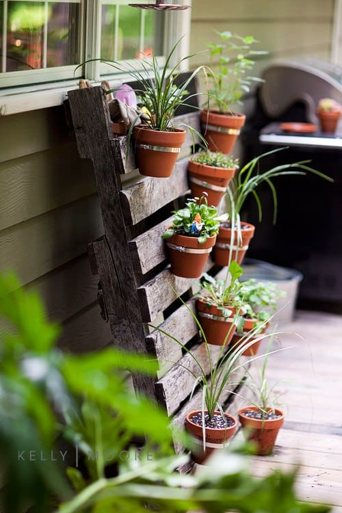 DIY Hanging Plant Potters