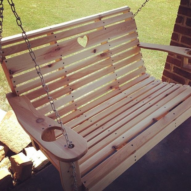 The DIY Porch Swing Made With Love
