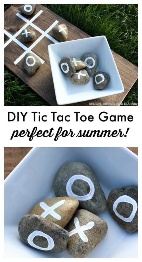 The Perfect DIY Outdoor 'Tic Tac Toe' Game