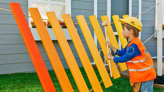 "An Exciting DIT Outdoor ""Xylophone"""