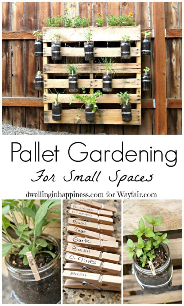Pallet Garden for Outdoor Space