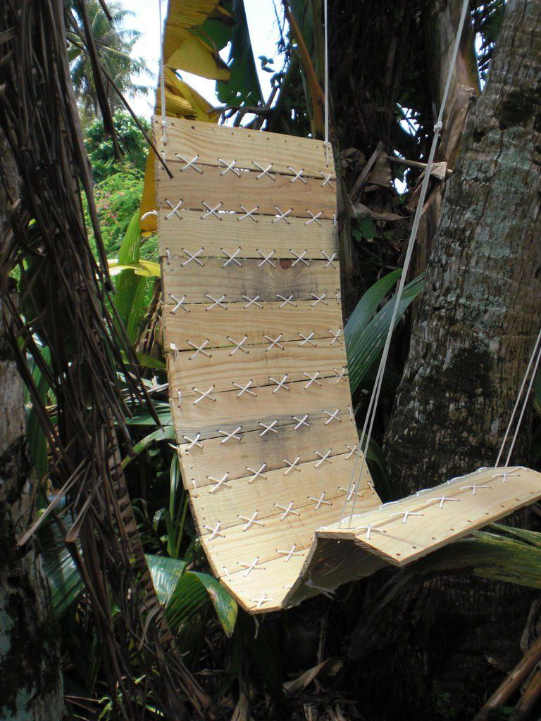 """A """"Military Style"""" DIY Chair Swing"""