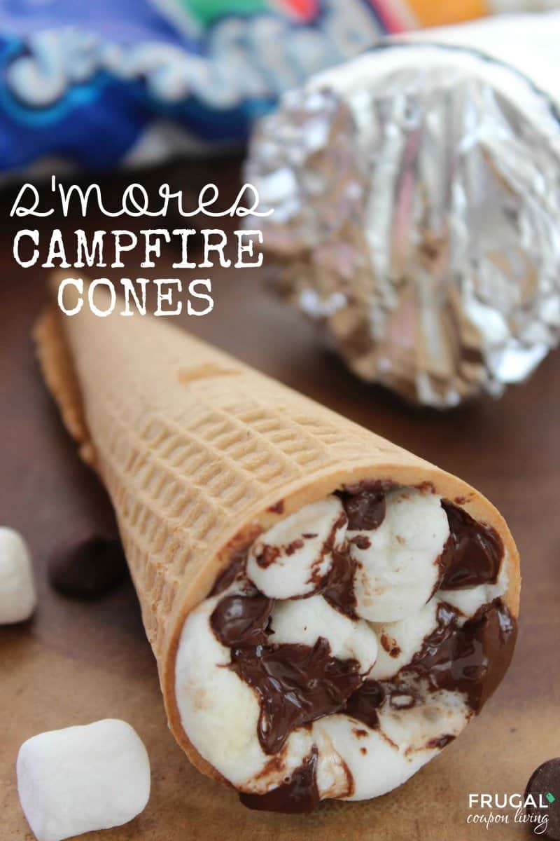 Delicious DIY Smore's 'Cones' For Those Hot Summer Days