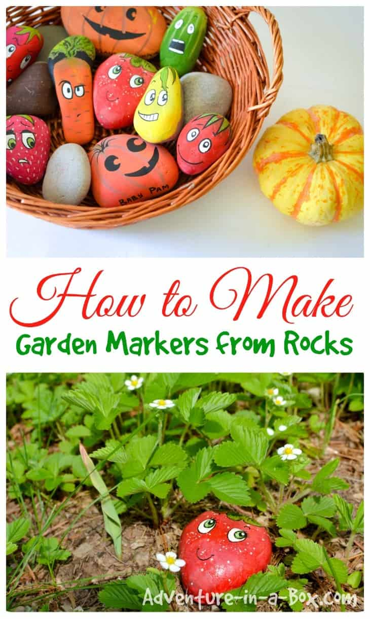 Fun DIY Garden Markers Project For Kids