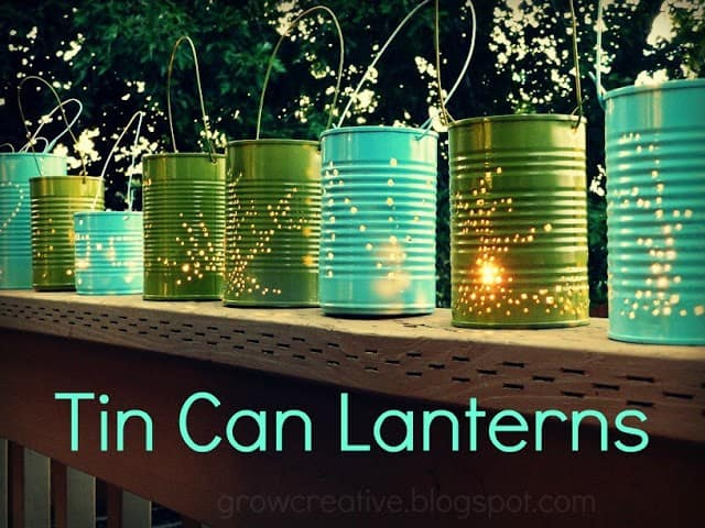 DIY 'Firefly' Lanterns For Your Back Yard