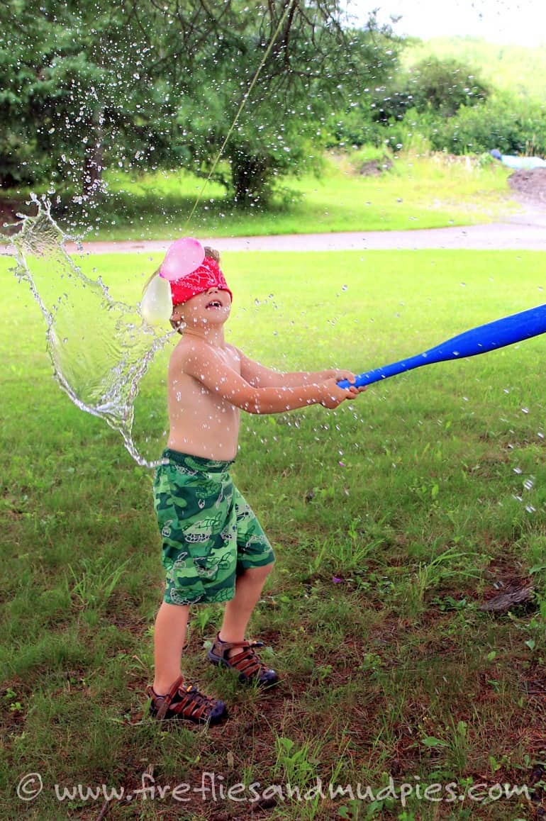 The DIY Water Balloon 'Pinata'