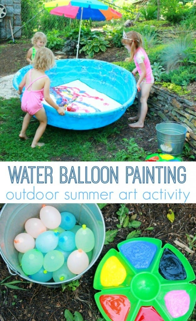 DIY Water Balloon Paint Project