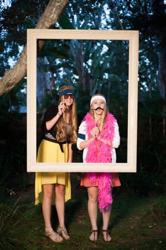 Cute, and EASY to Use Photo Booth for Parties