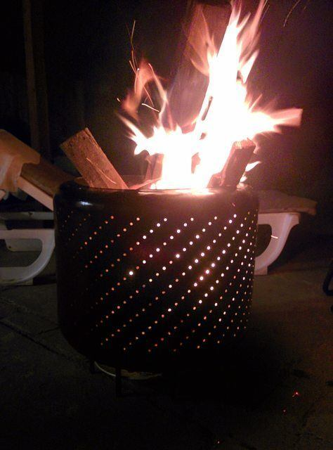 Eco-friendly outdoor fire pit to slow-cook and grille your favorite foods