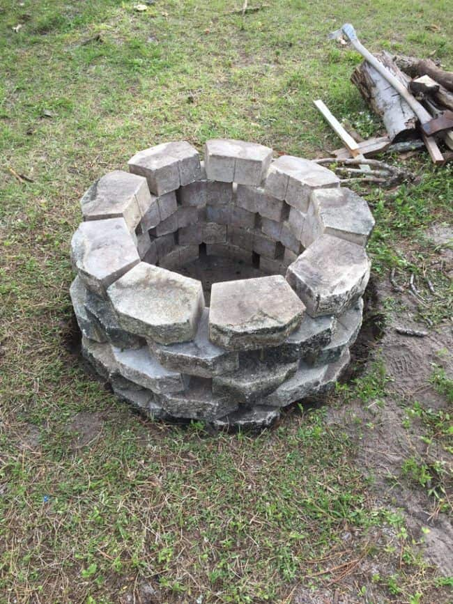 long-lasting, durable, and stylish DIY outdoor fire pit