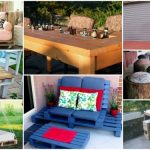 DIY backyard furniture