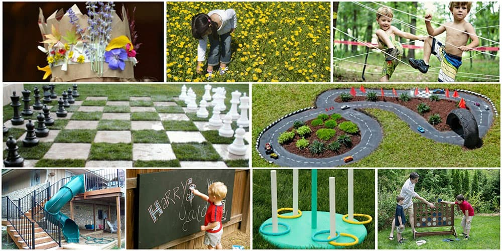 DIY Backyard Kids Games for Summer