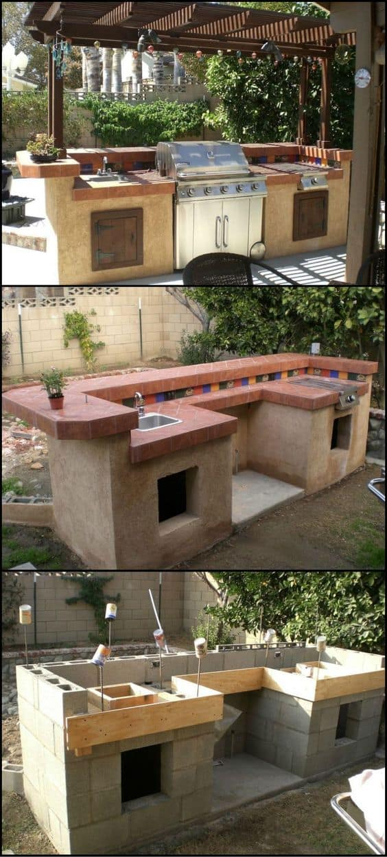A Complete DIY Custom Outdoor Kitchen