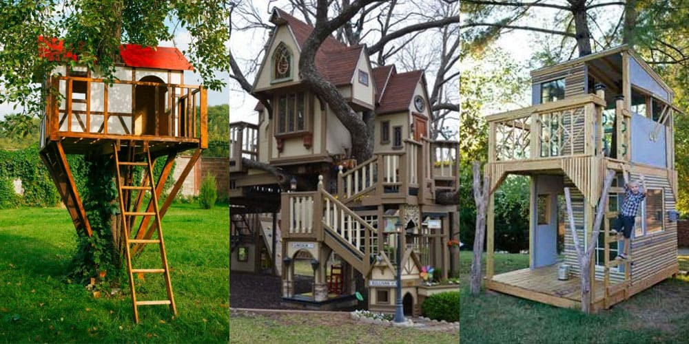 treehouse ideas for you