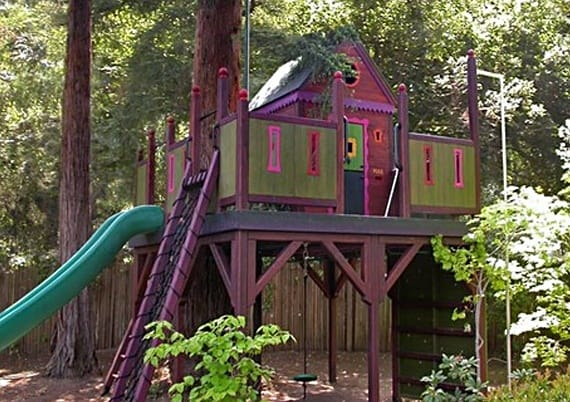 Barbara Butler treehouse