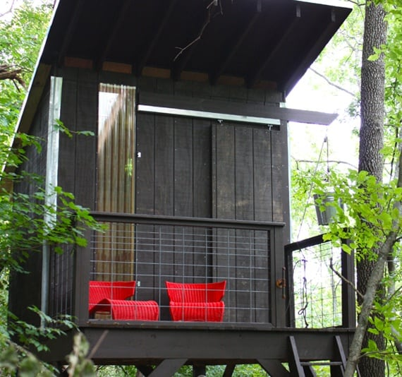 Super modern treehouse