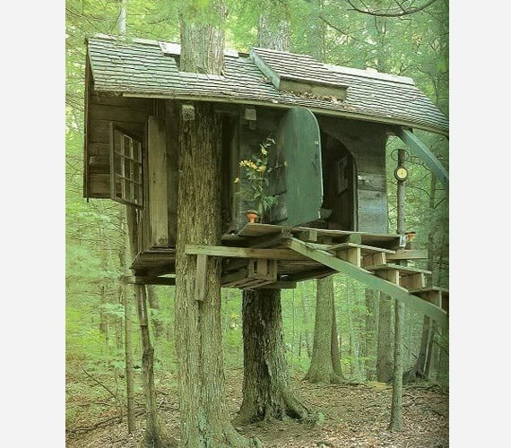 Hansel & Gretal treehouse
