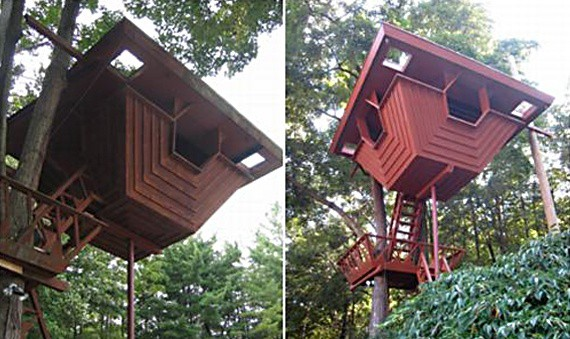 John Rattenbury treehouse design