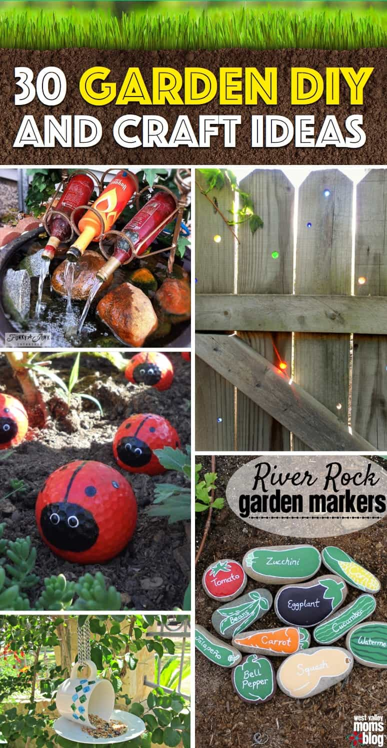 30 Diy Garden And Craft Ideas That Will Turn Your Backyard Into Paradise