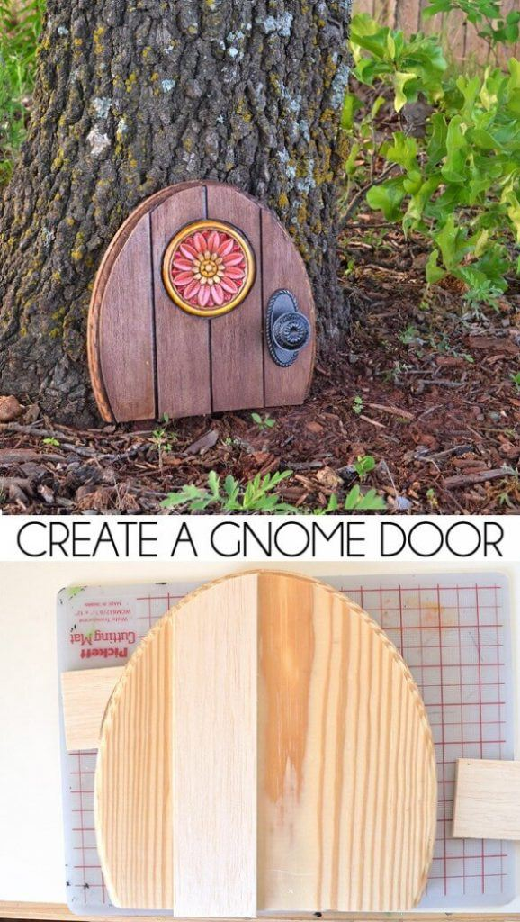 Bring Your Tree To Life With A Gnome Door!