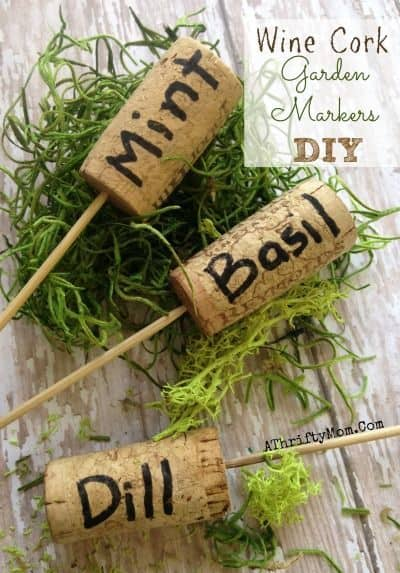 Fun And Simple DIY Garden Markers