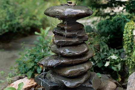 An Elegant And Budget Friendly Garden Fountain