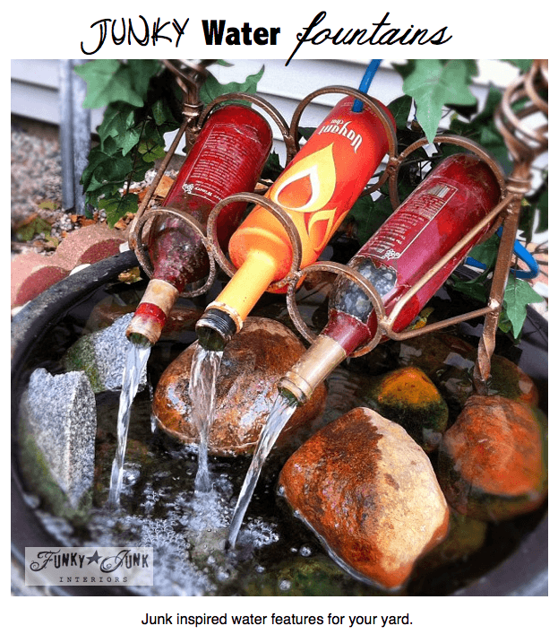 """The DIY Classy Yet """"Junky"""" Water Fountain Creation"""