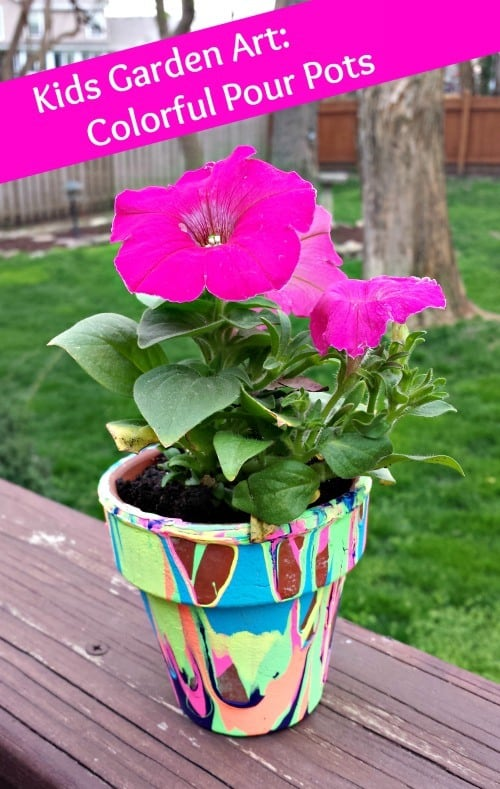Adding Color And Fun To Your Garden: Painted Flower Pots
