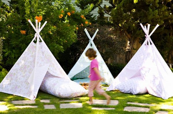 Outdoor Tepees