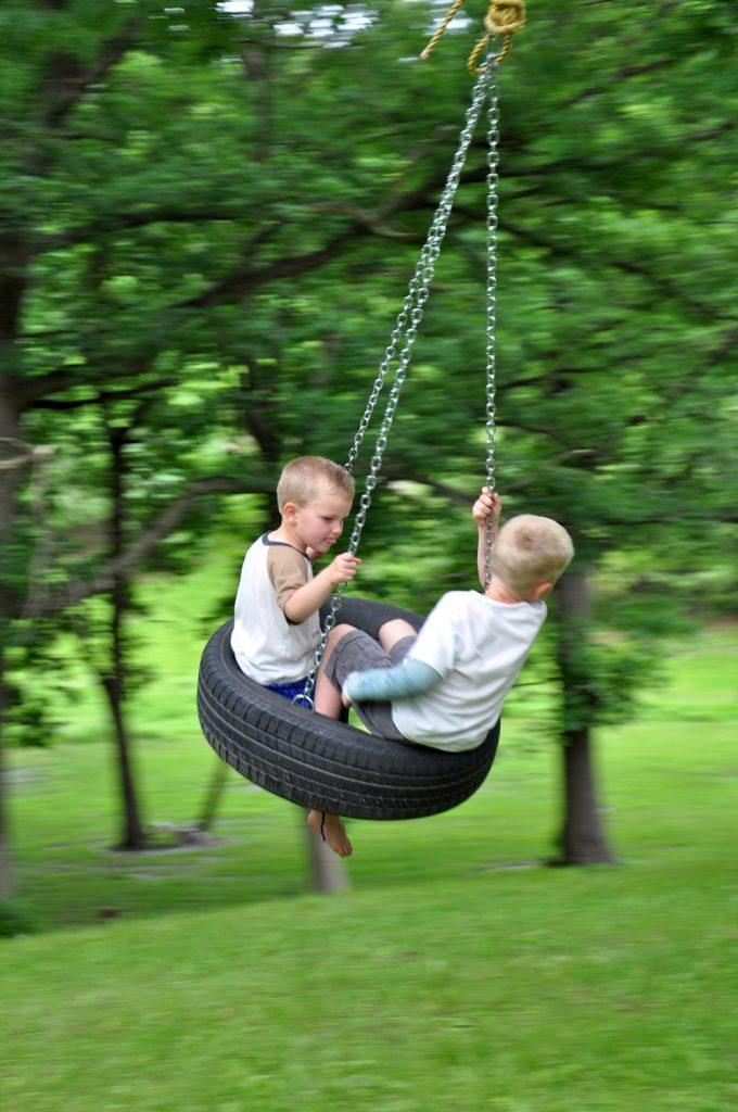 Ol' Fashion Tire Swing