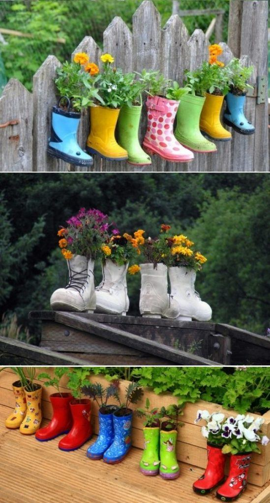 Cute Solution to an Outdoor Garden