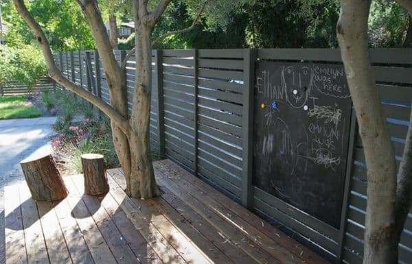 Chalk Board Wall: Great for Games and Learning!
