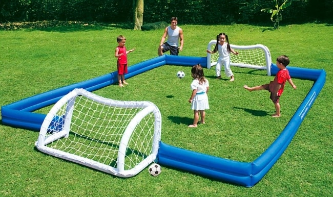Cool Sports Toys : Inflatable soccer field