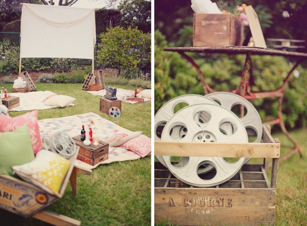 Creating a Backyard Cinema