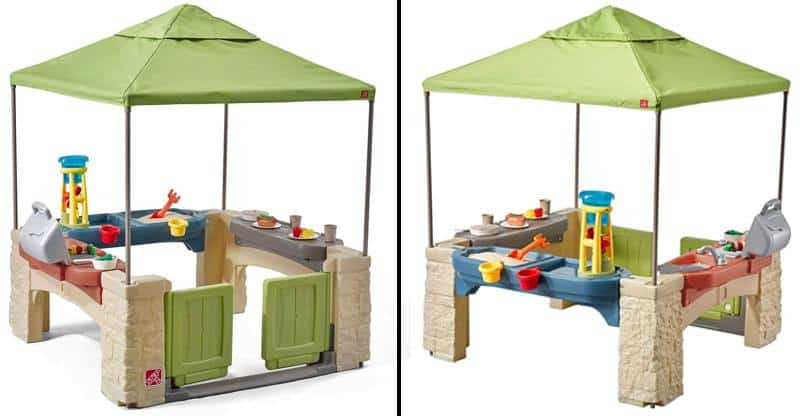 Toddler Canopy Playground with Patio