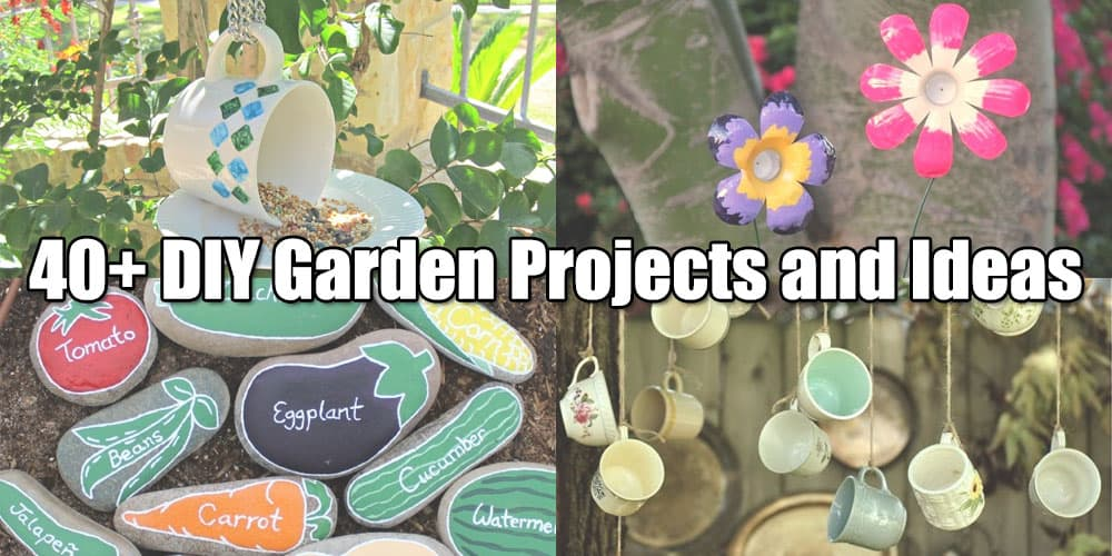 40+ DIY garden projects