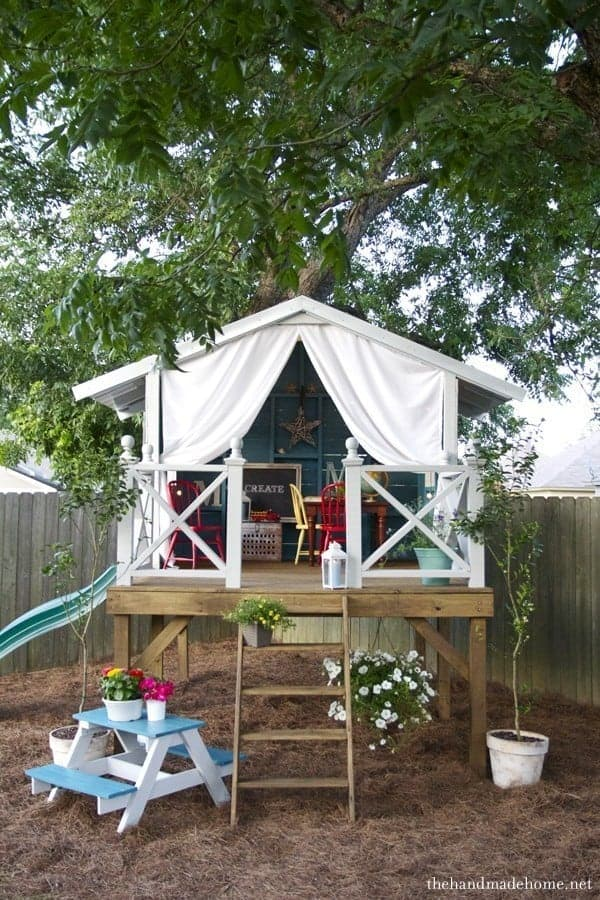 trendy bungalow tree house