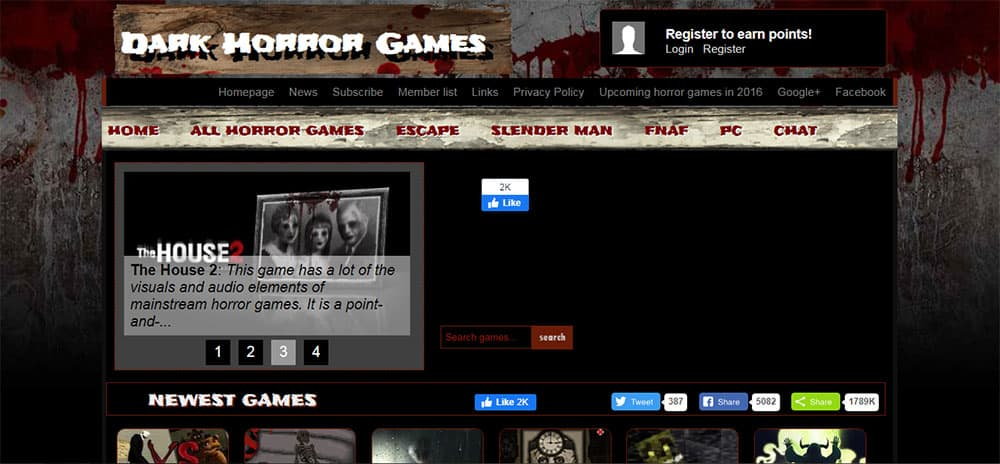 dark horror games online