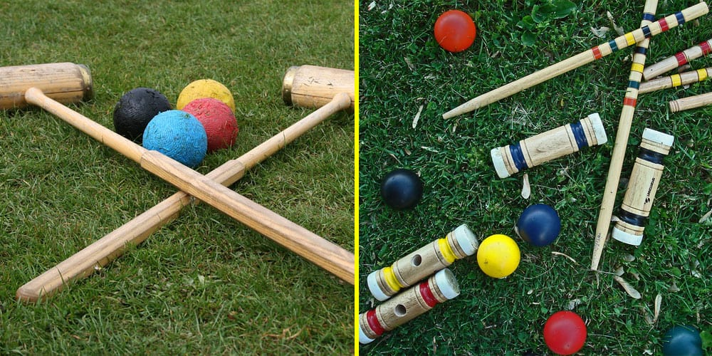 four player vs six player croquet sets