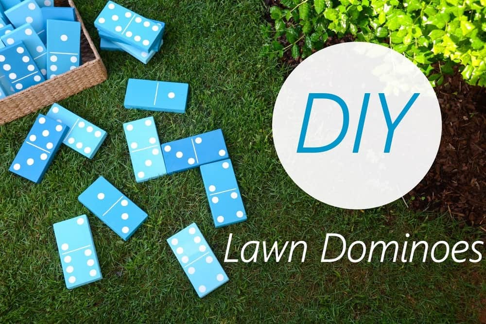 Diy Lawn Dominoes tutorial