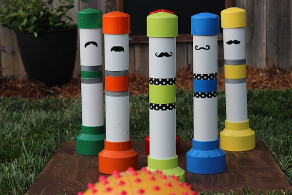 PVC Bowling Pins tutorial
