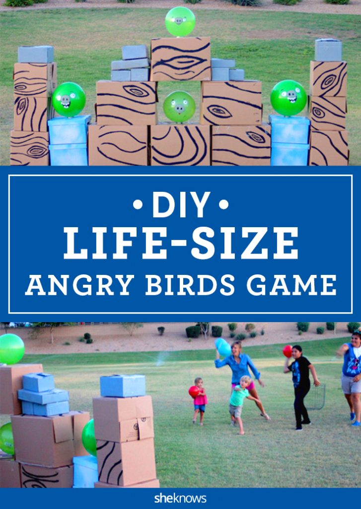 Real life angry birds tutorial
